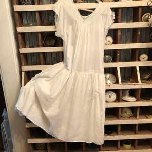 Magnolia Pearl European cotton dress lace